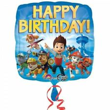 Paw Patrol Character Foil Shape Balloon Happy Birthday Decoration 17in 43cm