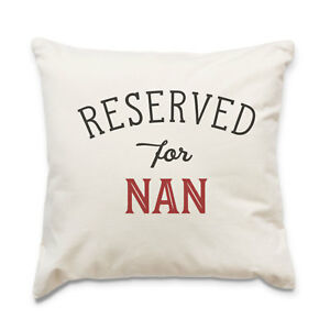 NEW - RESERVED FOR NAN - Quality Cushion Cover - Gift Present Xmas Birthday