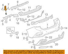 Chevrolet GM OEM 16-18 Cruze Rear Bumper-Lower Bracket 23422559