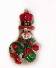 Christopher Radko ornaments Snowman, Sparkle Bright Rolly Polly 2012