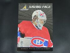 2010-11 10/11 Pinnacle Saving Face #11 Carey Price Montreal Canadiens
