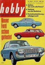 hobby 20/64 1964 Vipan Ford 17 20 M Renault R16 R8 Skoda 1000 MB Vanden Plas
