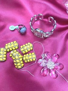 Lot of Watch, Ring, Bracelet For Jewelry Repair/Recycle/Repurpose/Parts/Findings