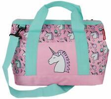 große Mädchen Sporttasche Reisetasche Umhängetasche für Freizeit & Sport pink