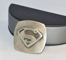 SUPERMAN SUPER MAN BELT BUCKLE NATIONAL PERIODICAL PUBLICATIONS A1-712