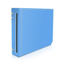 Wii Game Console Skin - Solid Blue - Decal Sticker