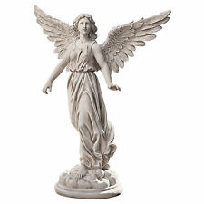Classic Stunning Spiritual Guardian Angel of Patience Resin Home Garden Statue