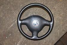 Lederlenkrad Dreispeichenlenkrad Airbag schwarz * VW Golf 4 2,0 85kW *