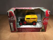 COCA COLA DIE CAST 1930 1/2 TON DELIVERY TRUCK BANK by ERTL - 1/43 SCALE - MINT