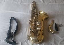 Selmer Usa 1244 Tenor Saxophone: Excellent Condition, Gold & Shiney!