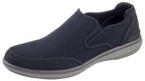 Skechers Mark Nason 'Helston' Navy/Charcoal Leather Slip On Memory Foam Shoes