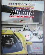 2005 Grand Prix of Atlanta IMSA ALMS American Le Mans Series Race Program