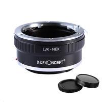 K&F Concept L/R-NEX Objektiv Adapter für Leica R Objektiv auf Sony E-Mount NEX