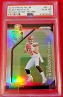 Baker Mayfield 2018 Panini Prizm Rookie Prizm Introduction RC PSA 10 GMT Browns!