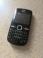 Nokia C3-00 - Black (Unlocked) Smartphone