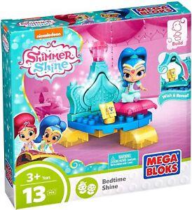 Shimmer Shine Mega Bloks Miniature Pet Bedroom Building Set Bed Cushion Wish