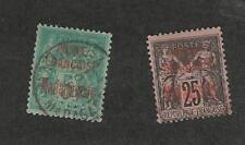 Malagasy, Postage Stamp, #14, 17 Used, 1895 French Colony