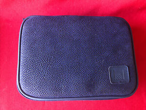 Continental Airlines Business First Class Travel Amenity Kit Case Bag