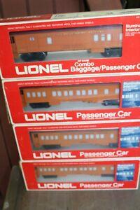 Lionel Milwaukee Road Passenger Cars 9504 9501 9506 9511