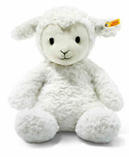 Steiff 073434 Soft Cuddly Friends Fuzzy Lamb 15in Incl. Gift