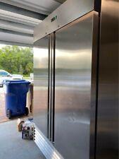 Reach in Freezer - Double door - stainless steel - BRAND NEW!