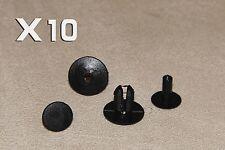 Mitsubishi 8mm clips de plástico Remaches-Moldura Interior paneles, alfombras y revestimientos