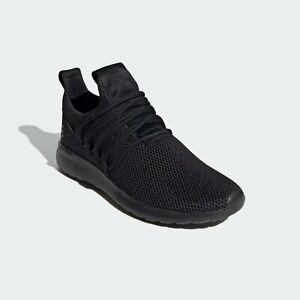 Mens Adidas Lite Racer Adapt Wide Black Slip On Sport Shoe FY7203 Size 11 Wide
