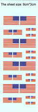 1/700 1/350 decals Usa American flags(48 stars) for model kits (G33)