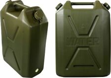 FREEPOST 22 L lt Army Water Jerry Can HD Plastic Camping Storage Container Green