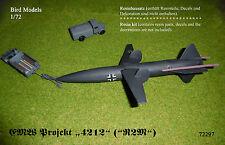 "EMW Projekt 4212 ""R2M"" (Super-V2)        1/72 Bird Models Resinbausatz/resin kit"