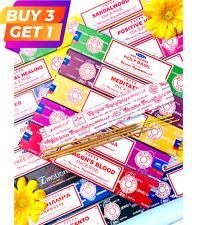 Original Satya Nag Champa Incense Sticks Insense Joss Sticks Insence Mix & Match