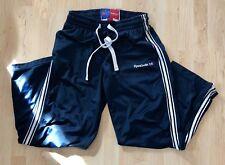 Rare Vintage Reebok Navy Striped Sweatpants English Flag Size Medium