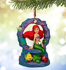 Disney Ariel Musical Sketchbook Ornament Christmas Decoration BNIB Genuine