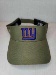 New York Giants New Era Salute to Service Sideline Visor - Olive NWT NFL