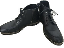 Mens Next Black Boots Size 9