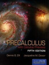 Precalculus With Calculus Previews (The Jones & Bartlett Learning International