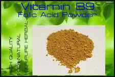 High Quality!!  Vitamin B9  /  Folic Acid Powder  # 500 grams