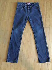 """Levis 510 super skinny Jeans 28""""x 28"""" Soft Black - Excellent Condition"""