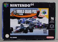 F-1 WORLD GRAND PRIX - NINTENDO 64 - VERSION ESPAÑA