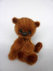 """Morpheus ""-11 cm miniature artist teddy bear by ""HappyTeddy"" Aleksandra J."