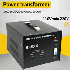 5000 Watt Step Up Step Down Electrical Power Voltage Converter Transformer Usa