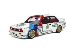 1/12 GT Spirit Otto BMW M3 E30 1989 DTM Champion Ravaglia Car#15 Warsteiner G055
