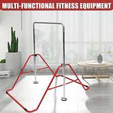 Pull Up Dip Station Fitness Power Tower Exercise Body Gym Adjustable Equipment