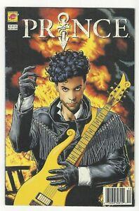 Prince: Alter Ego #1 VG/FN Scarce Newsstand Edition! Bolland! DC's Piranha Press