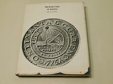 THE EARLY COINS OF AMERICA VINTAGE 1974 BOOK BY SYLVESTER S. CROSBY