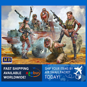 New Amazons. This is Not the Place for Strangers! 1/35 Scale Model Kit MB 35199