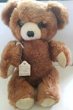 """VINTAGE DAKIN & CO  1960s 14"""" TEDDY BEAR Brown"""