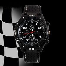 GT Men's Sport Watch Silicone Band Analog Quartz Fashion Casual Wrist Watches
