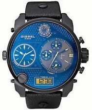 Nouveau Diesel Mr Daddy blue/cadran noir chronographe montre homme DZ7127