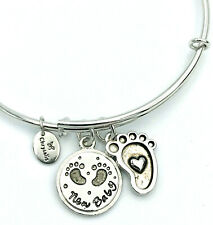 """Chrysalis """"New Baby"""" expandable BANGLE_Friends and Family Collection"""